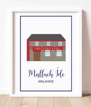 Load image into Gallery viewer, Malahide Illustrated Maps & Art Prints