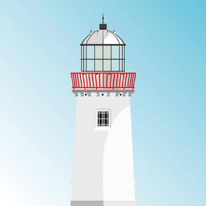 Mutton Island Lighthouse - art print 2