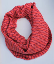 Load image into Gallery viewer, Box Pattern Twisted Loop Scarf