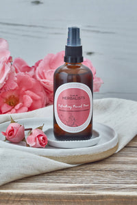 Dublin Herbalists Refreshing Facial Toner- With Rose, Cucumber Extract and D-Panthenol