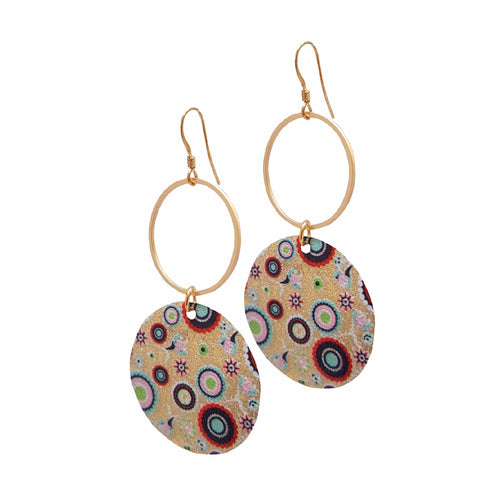 Boho Summer & Abstract Loop Earrings