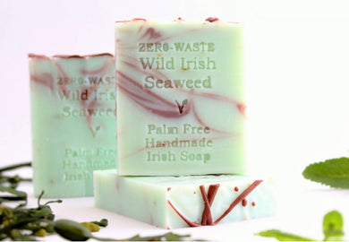 Palm Free Irish Soap, Uplifting Wild Irish Seaweed