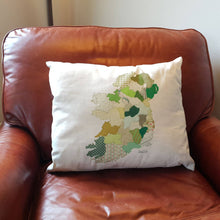 Load image into Gallery viewer, Map of Ireland Cushion