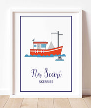 Load image into Gallery viewer, Skerries Illustrated Maps & Art Prints
