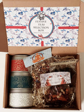 Load image into Gallery viewer, Festive Tea & Handcrafted Tin Selection Box