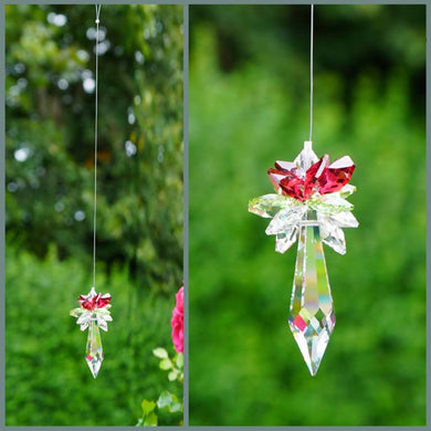 Christmas Icicle Pendulum Suncatcher
