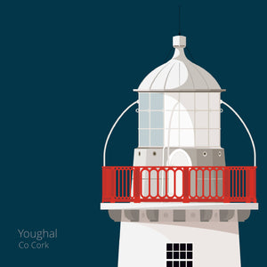 Youghal Lighthouse - Cork - art print