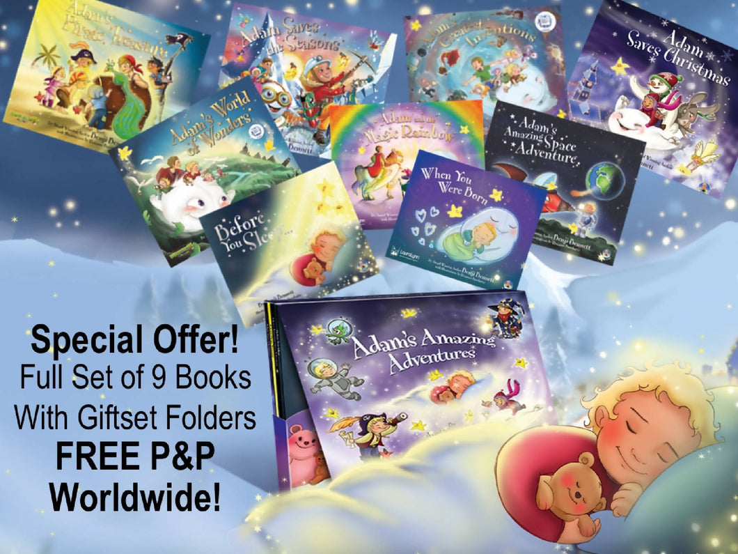 Adams Bonkers 9 Book Deal (Includes 3 Free Books)