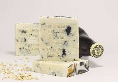 Palm Free Irish Soap, Soft Notes & Earthy Oat Milk & Porter