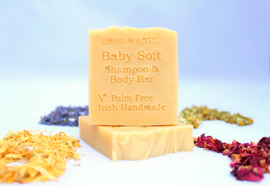 Palm Free Irish Soap, Soothing Baby Soft Shampoo Bar