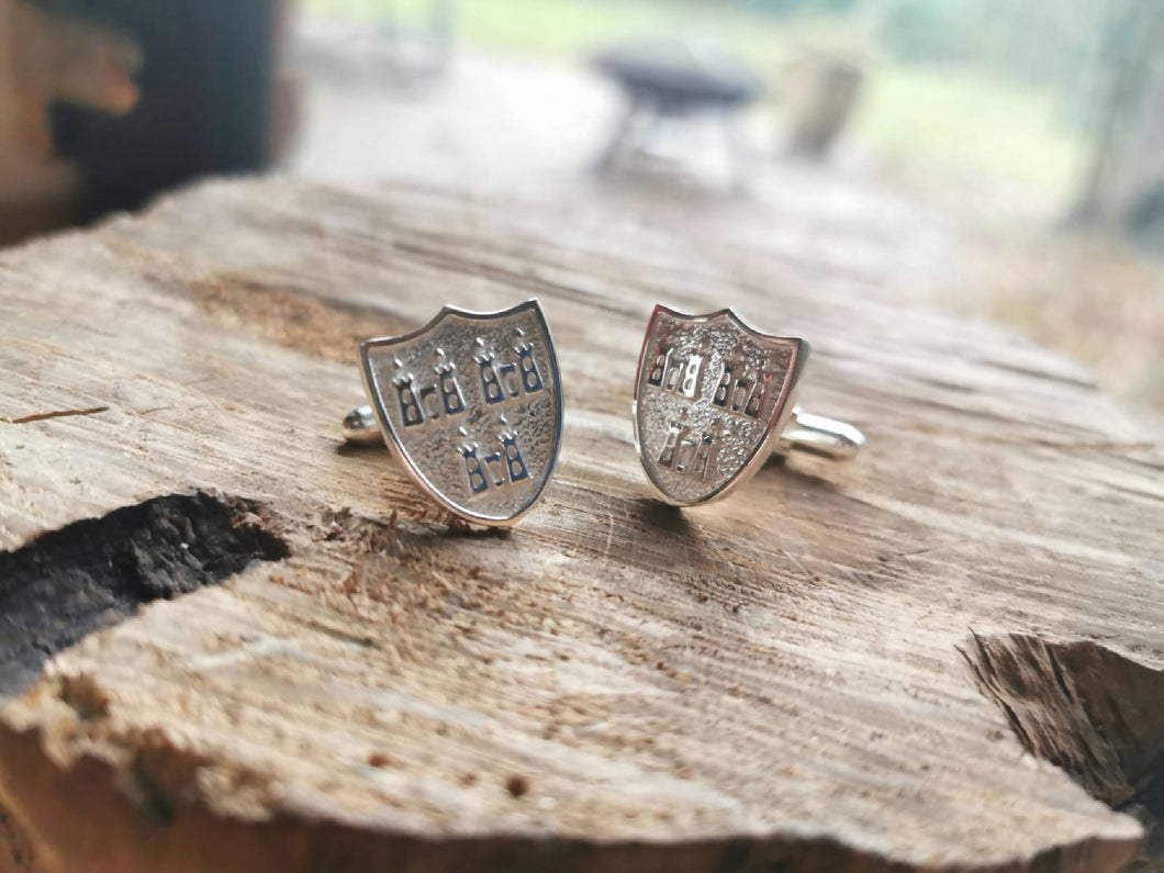 Dublin Coat of Arms Cufflinks