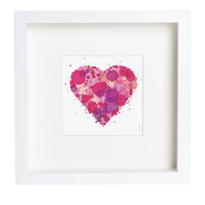 Abstract Print 'Heart'
