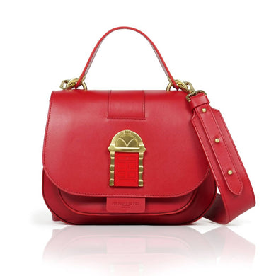 Crossbody Door Bag Red