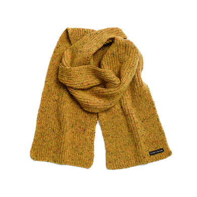 Corn - Merino Wool Knit Scarf