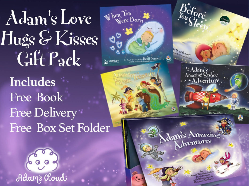 Love Hugs & Kisses Pack (Includes 1 Free Book)