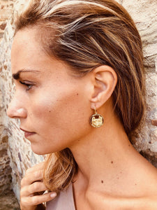 Grace O'Malley Medallion Earrings
