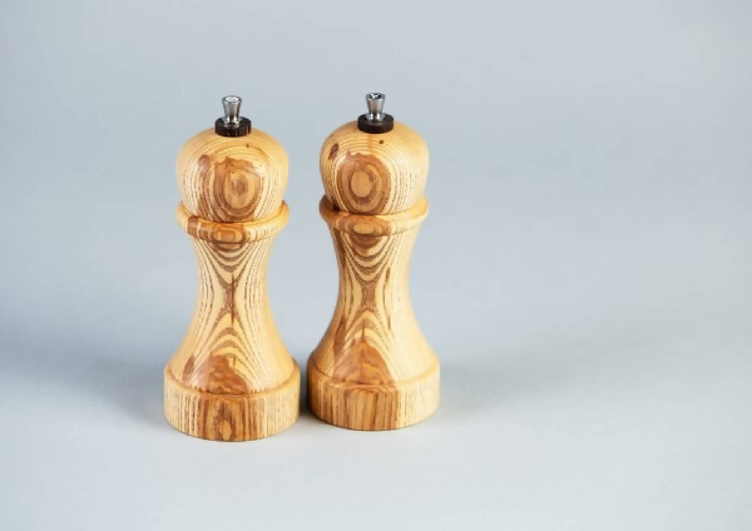 Ash Salt & Pepper Mill Set