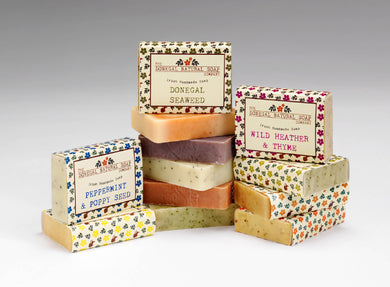 10 Natural Handmade & Palm Oil Free Certified Soaps