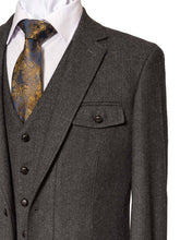 Load image into Gallery viewer, Swift Grey Slim Fit Jacket
