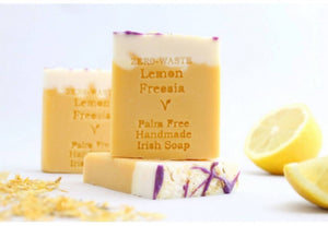 Palm Free Irish Soap, Refreshing Lemon Freesia