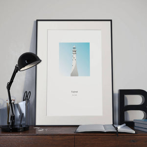 Fastnet Lighthouse - art print