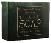 Load image into Gallery viewer, Natural Handmade Soap (with palm oil)