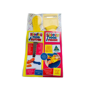 2 Pack Safety Food Peeler & Kiddies Food Kutter Set