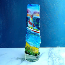 Load image into Gallery viewer, Fused Glass Freestanding Sculptural Art (6 options)