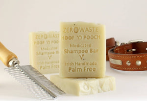 Palm Free Irish Soap, Pet Pampering Hoof n' Pooch Shampoo Bar