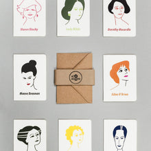 Load image into Gallery viewer, Irish Women Writers Card Set