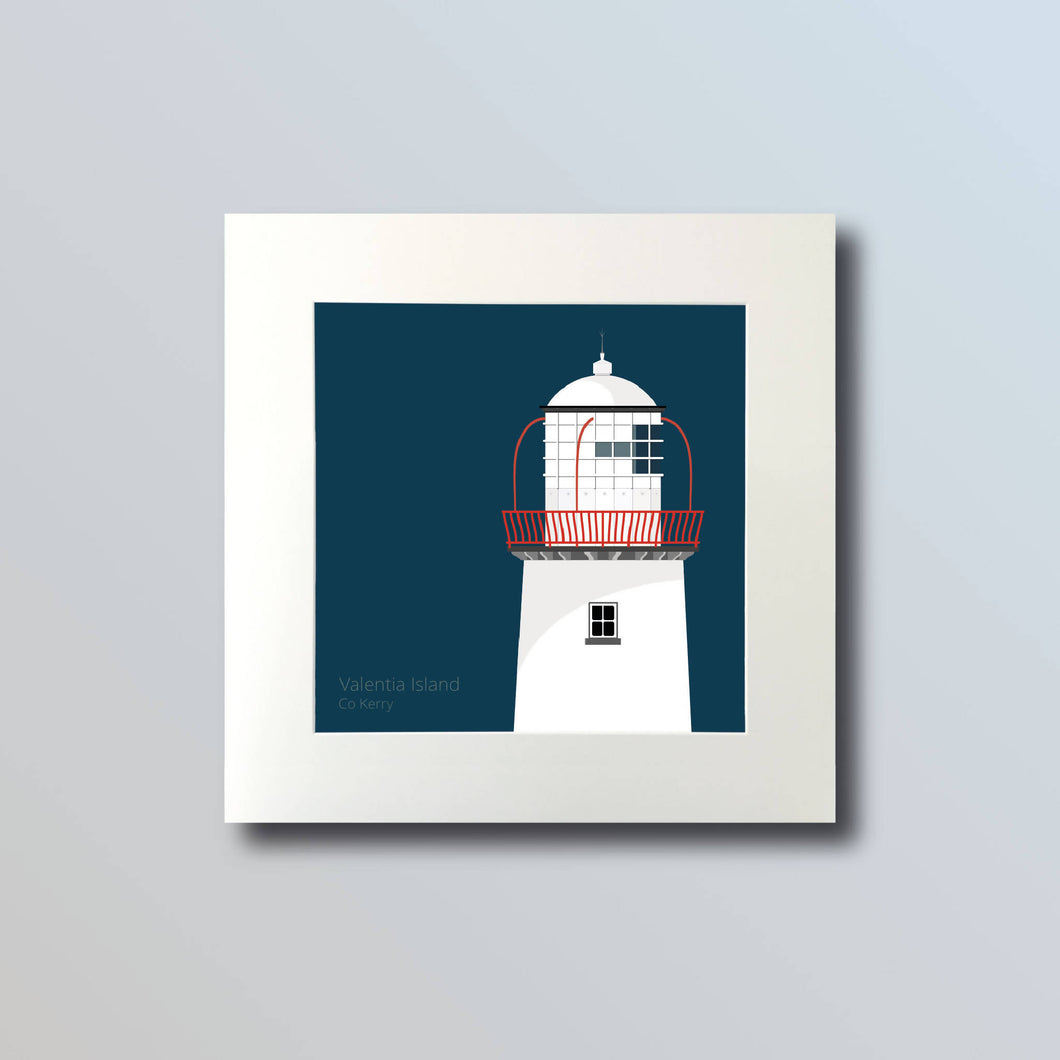 Valentia Island Lighthouse - art print