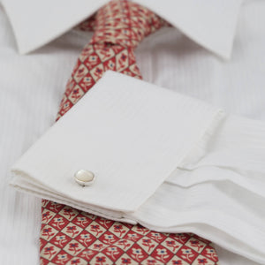 Barrow Cufflink Collection: choose from Donegal Granite, Mother of Pearl, Carnelian or Jasper