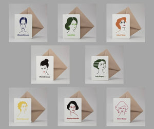 Irish Women Writers Card Set