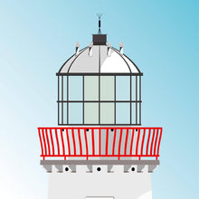 Load image into Gallery viewer, Mutton Island Lighthouse - art print 2