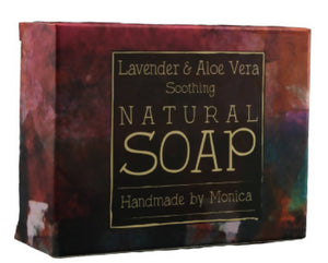 Natural Handmade Soap (with palm oil)