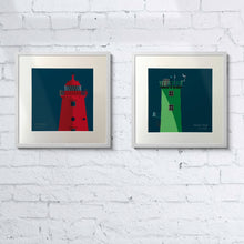 Load image into Gallery viewer, Poolbeg & Northbull Lighthouse - double art print