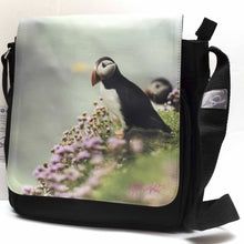 Load image into Gallery viewer, Puffin Messenger Shoulder Bag