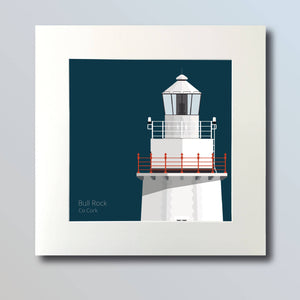 Bull Rock Lighthouse - art print