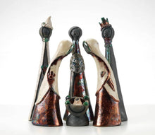 Load image into Gallery viewer, Hand-Built Ceramic figures - The 3 Wise Men