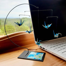Load image into Gallery viewer, Origami crane- Desktop mobile