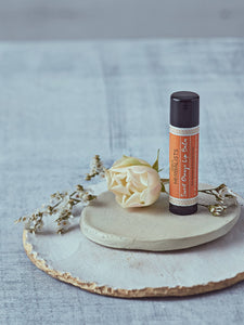 Sweet Orange Lip Balm- With Beeswax and Shea Nut Butter