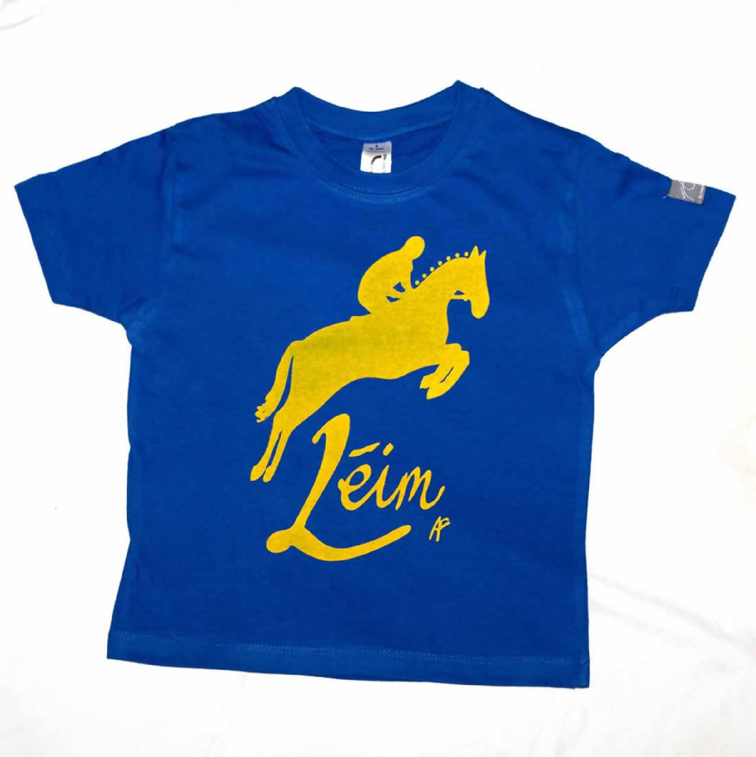 Kids Irish Language Horse Jump T-Shirt