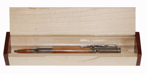 Bolt Action Yew Pen in Presentation Box