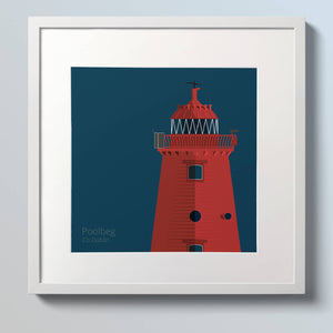 Poolbeg & Northbull Lighthouse - double art print