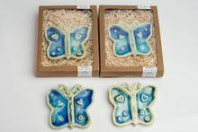 Load image into Gallery viewer, Ceramic Butterfly Wall Ornament