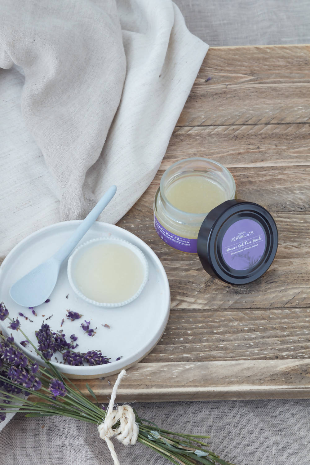 Dublin Herbalists Intensive Gel Face Mask- With Lavender & Vitamin E