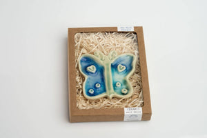 Ceramic Butterfly Wall Ornament