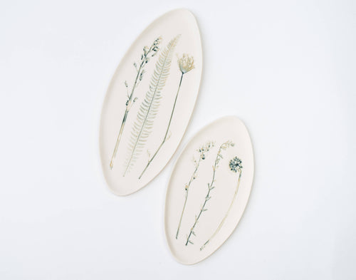 Oval Platter- Meadow Mix