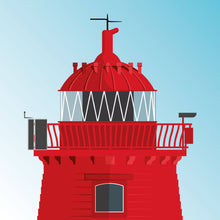 Load image into Gallery viewer, Poolbeg Lighthouse - art print