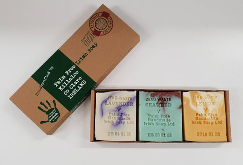 Palm Free Irish Soap, For Someone Special, Gift Pack of 3 Mixed Soaps